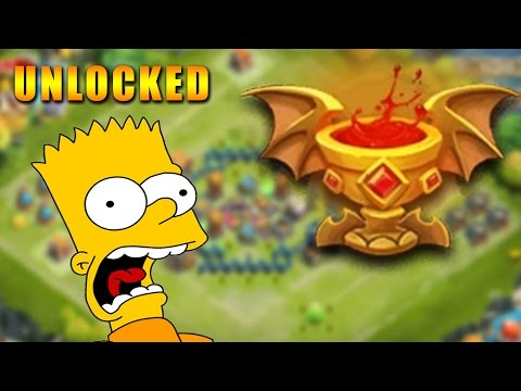 How To Unlock Goblet Of Life With Minotaur Castle Clash