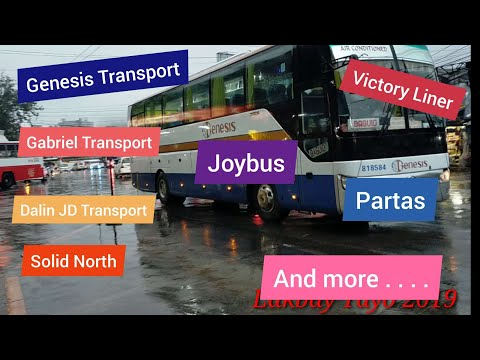 BAGUIO City Buses 2019