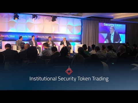 Security Token Summit: Institutional Security Token Trading Panel