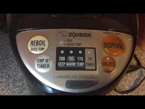 Zojirushi Commercial Water Boiler & Warmer CD-LTC50 Made in Japan