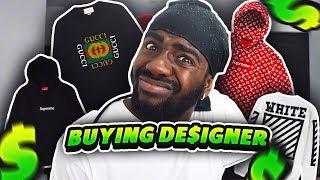 $7000 DESIGNER CLOTHES SHOPPING SPREE!!