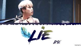 BTS Jimin (방탄소년단 지민) - 'Lie' Lyrics #HAPPYJIMINDAY