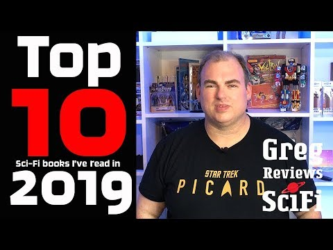 Top 10 Science Fiction (sci-fi) Books I've Read In 2019