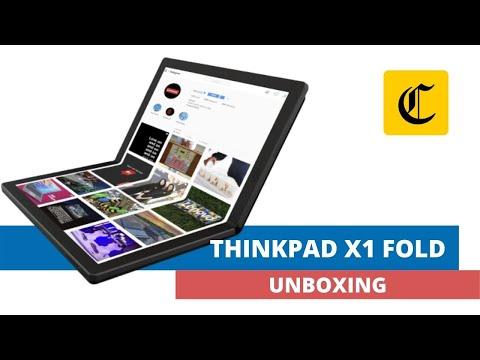 GADGETS | LAPTOP | ANÁLISIS | LENOVO | ThinkPad X1 Fold | ¿El futuro de las pantallas flexibles está en las laptops? | TECNOLOGIA