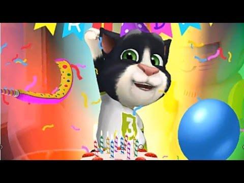 Мой Говорящий Кот Том #6(My Loking Tom) Том стал Котом Ребенком, Купили новый костюм и играли в 2048