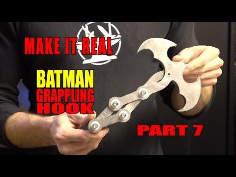 Batman Rappelling Part 7 - THE STAINLESS STEEL BAT HOOK