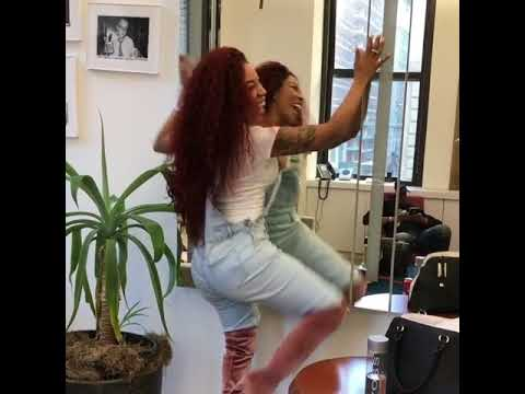 K. Michelle celebrates her new booty twerking to