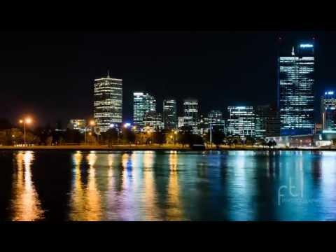 Perth Skyline at night