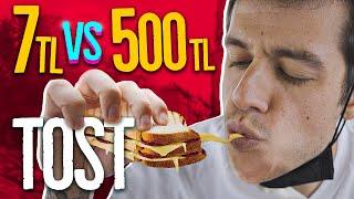 7TL Tost vs. 500TL Tost! (#SonradanGörme)