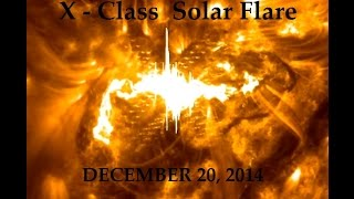 12/20/2014 -- X Class Solar Flare (X1.8) -- Multiple views from the SDO