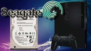 PS3 Festplatte wechseln - Seagate SSHD 1TB einbauen