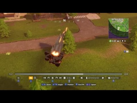 Meteor hits beside retail row [Fortnite]