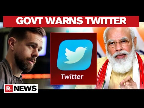 GOI Writes To Twitter CEO Over Misrepresentation Of Indian Map And Neutrality Of Twitter