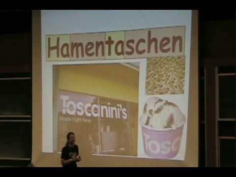MIT Latke-Hamentashen Debate 2008 - Erik Demaine (H3)