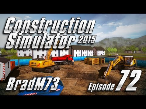 Construction Simulator 2015 GOLD EDITION - Episode 72 - Finishing the office buildings