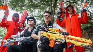 LTT Game Nerf War : Captain Warriors SEAL X Nerf Guns Fight Braum Crazy Brother Traitor