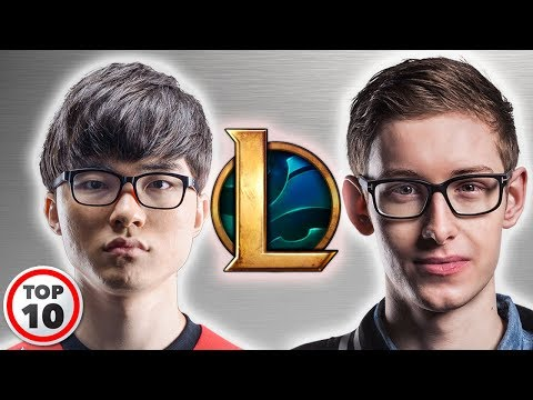 Top 10 League Of Legends Greatest Players Of All Time
