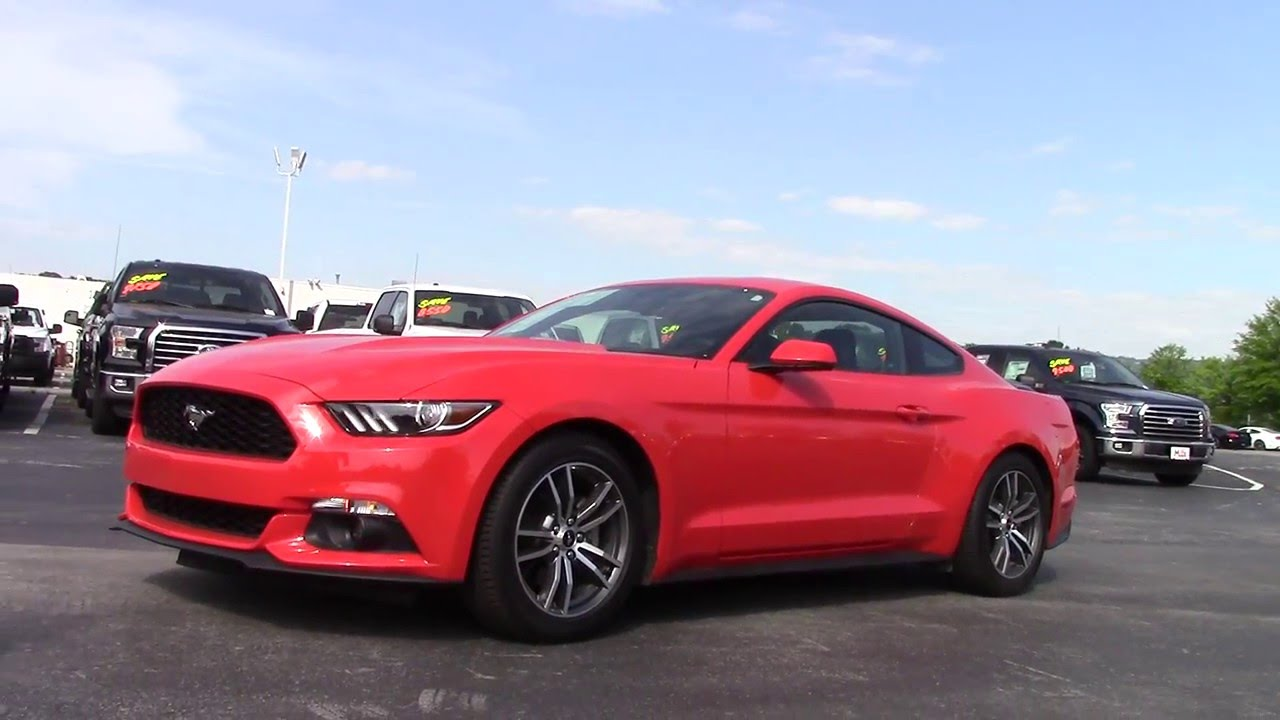 Ford Mustang EcoBoost Premium Marshal Mize Ford - Chattanooga ford dealers
