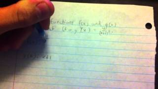 How to break down a composite function