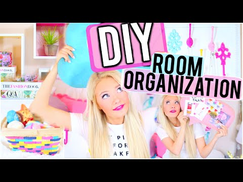 DIY Room Organization and Storage Ideas! How to Clean Your Room in 2016!