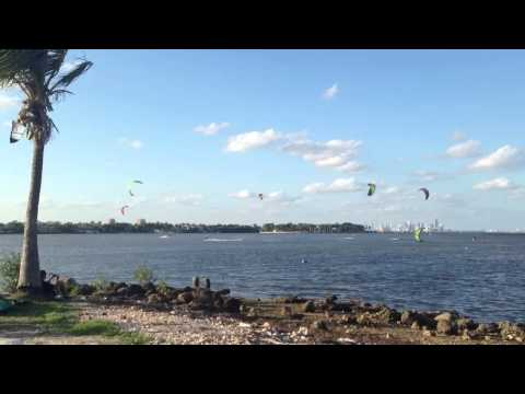 Matheson Hammock Kiting