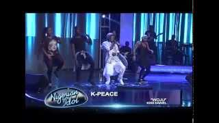 K-peace performs woju at nigerian idol grand finale