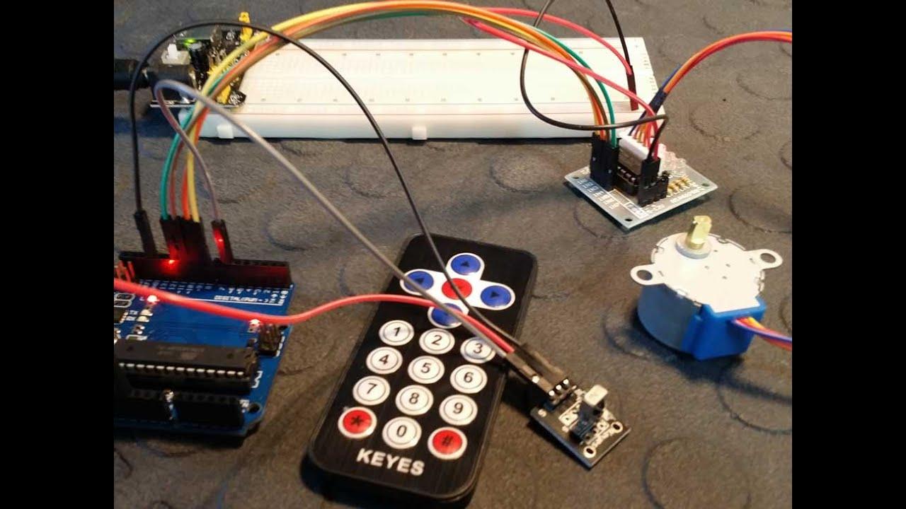 Nema 14 Wiring Diagram Control A Stepper Motor Using An Ir Remote And Arduino Uno