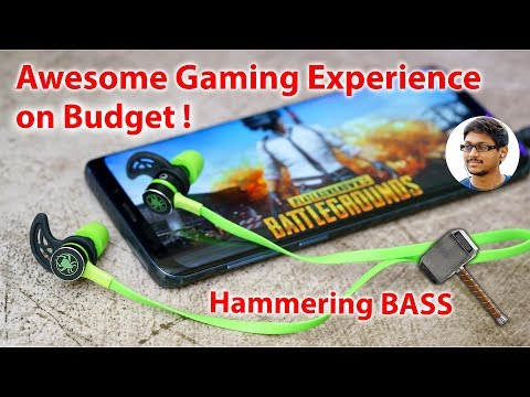 Awesome Gaming Earphones For PUBG Mobile With Hammering BASS For Rs 1099...