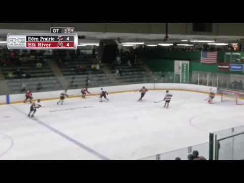 High School Hockey: Eden Prairie vs. Elk River