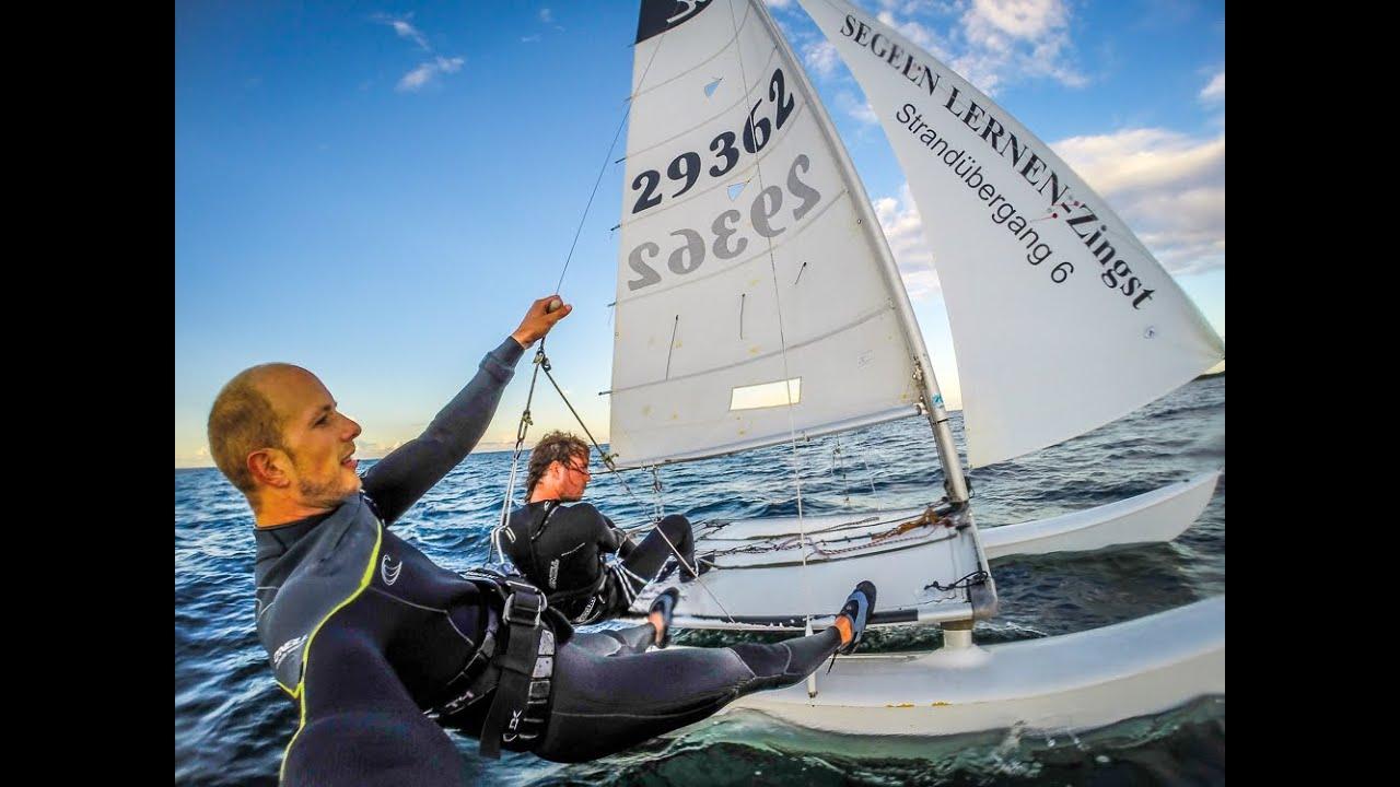 Katamaran segeln  Katamaran segeln lernen - YouTube