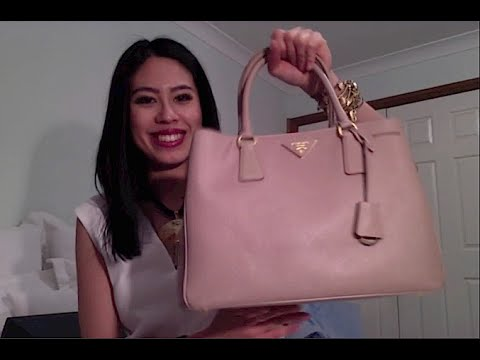 05097b7286a3 Unboxing my BN1874 Prada Saffiano Lux Tote in Cammeo! - YouTube