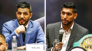 Amir Khan vs. Billy Dib FULL FINAL PRESS CONFERENCE | Jeddah Boxing