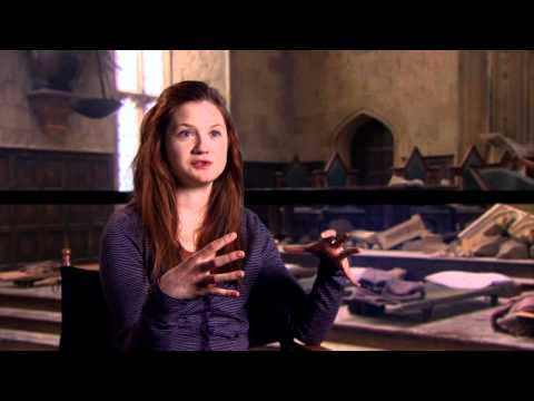 Bonnie Wright 'Harry Potter and the Deathly Hallows Part 2' Interview