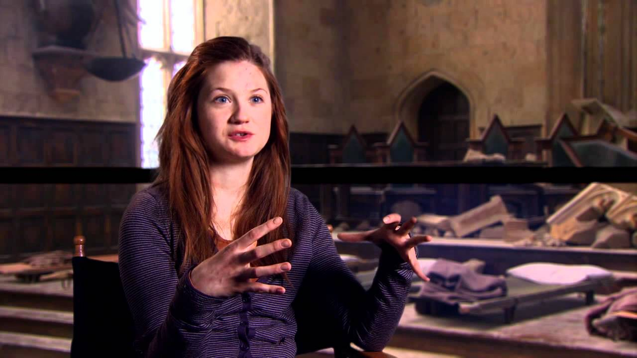 Bonnie Wright 'Harry Potter and the Deathly Hallows Part 2 ...