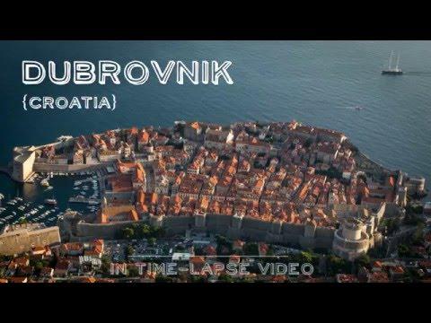 Dubrovnik in Croatia - City Tour (Time-Lapse)