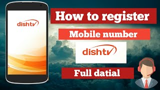 How to register your mobile number Dish TV customer care screenshot 2