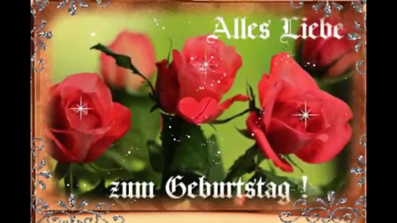 geburtstagsvideo rote rosen f r dich youtube