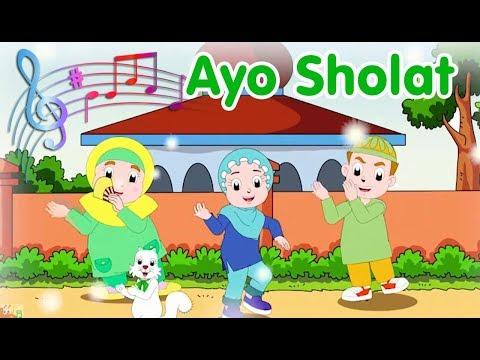 Ayo Sholat   Diva Bernyanyi   Lagu Anak Channel