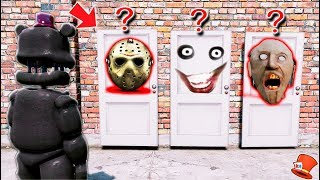WHICH SCARY DOOR WILL LEFTY CHOOSE? (GTA 5 Mods FNAF RedHatter) thumbnail