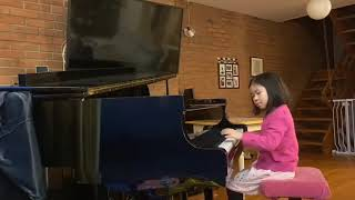 In Old Vienna, The Juggler, Album for Children by W. Gillock, played by Elyse Yip, 8 yo
