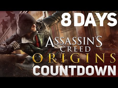 Assassin's Creed Origins COUNTDOWN - 8 Days to Go [LIVE] (AC Syndicate/PC)