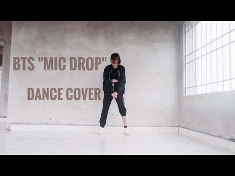 BTS- 방탄소년단 ''MIC DROP'' Dance cover with [Mirror dance] by Jannie