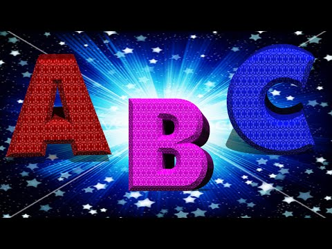 Learn ABC Song A to Z Counting - 3D Animation ABCD Rhymes for Children