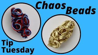 DIY Chaos Beads Tutorial: TIP TUESDAY