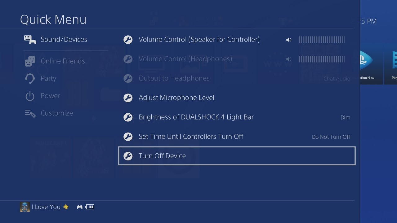 How to Turn Off your PS4 Controller - YouTube