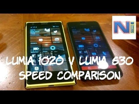 f18a98d990a Nokia Lumia 630 enfrenta Lumia 1020 em teste de velocidade - Tudocelular.com