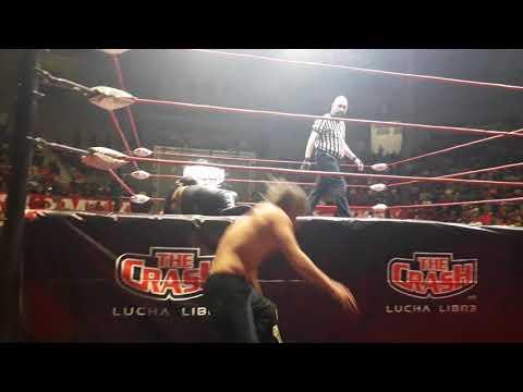 The Crash Bestia 666 vs Jack Evans (Cabellera vs Cabellera)