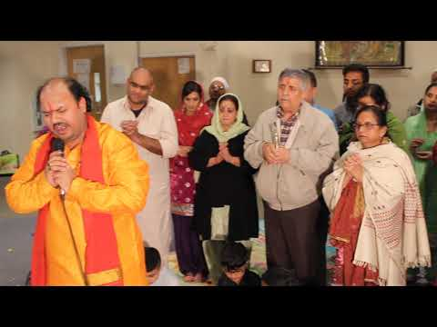 BHAGWATI JAGRAN in HINDU TEMPLE & CULTURAL CENTRE Bothell WA U.S.A.