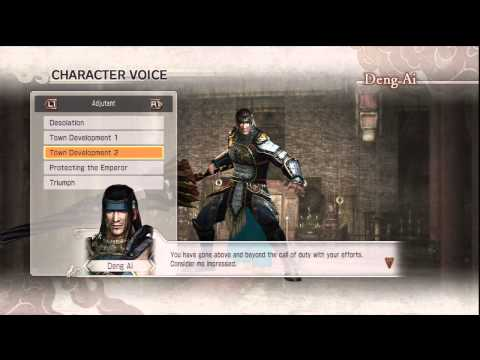 Dynasty Warriors 7 Xtreme Legends - Deng Ai Legend Quotes (English)