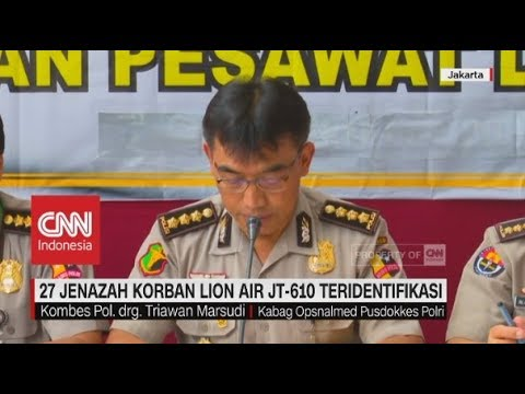 27 Jenazah Korban Lion Air JT-610 Teridentifikasi Mp3